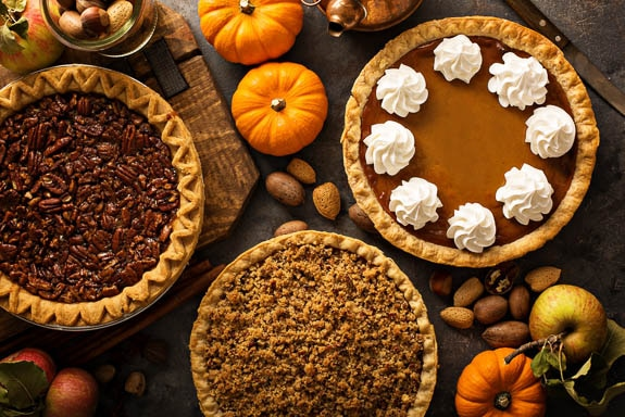 Thanksgiving Dessert and Pies in the Sarasota and Bradenton FL areas.