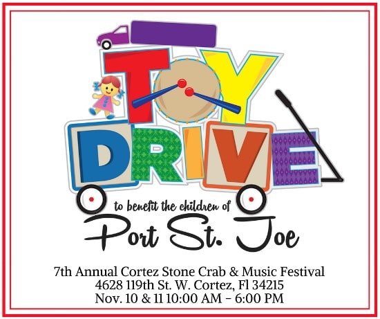 Toy Drive for the kids of Port Saint Joe, Florida