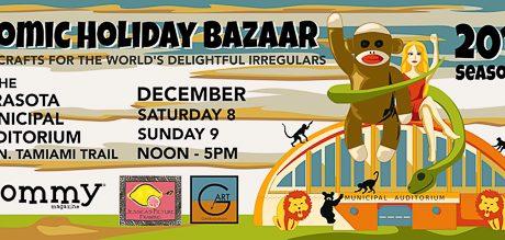 Lucky 13 For Sarasota's Atomic Holiday Bazaar