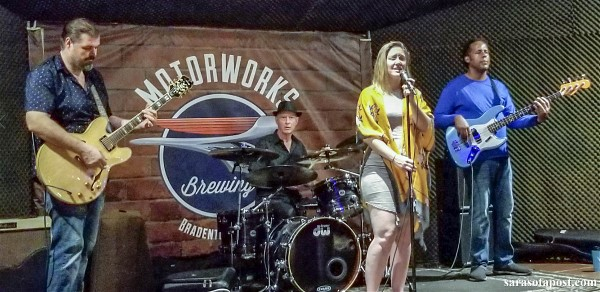 Tampa's Betty Fox Band Put on Quite A Show at Motorworks Brewing in Bradenton, FL