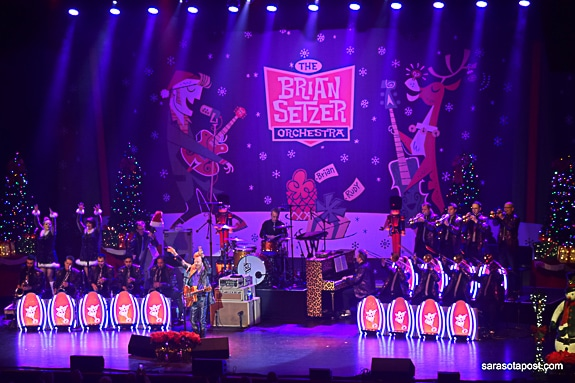 Stray Cat Brian Setzer and his Orchestra Rock Clearwater Inside Out