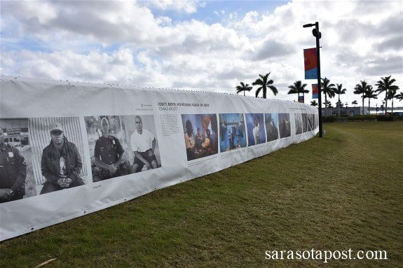 """It's a Perfect Day to Visit """"The Fence"""" at Nathan Benderson Park in Sarasota"""