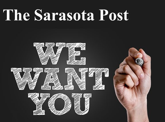 Are You A Talented Writer? The Sarasota Post Wants You!