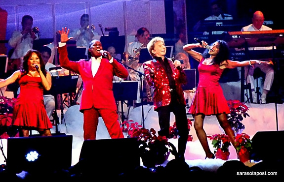 A Very Barry Manilow Christmas Comes to Tampa Bay, FL