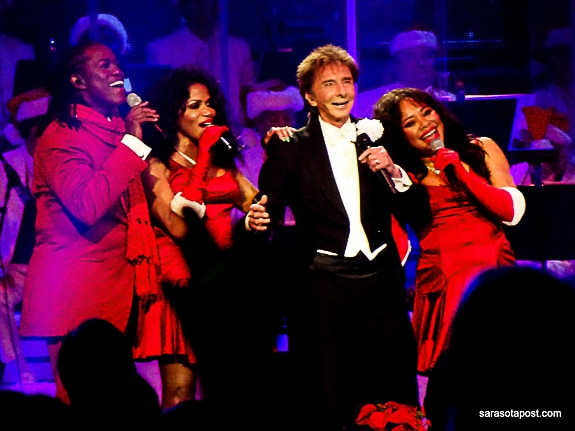 Barry Manilow at the Amalie Arena in Tampa, FL