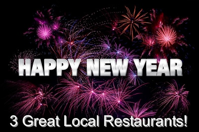 Three Great Restaurants for an Early Start to New Year's Eve in Sarasota, Bradenton and, Cortez FL