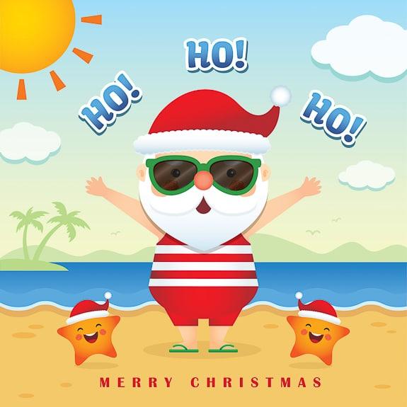 Kids can see Santa in Bradenton and Sarasota.