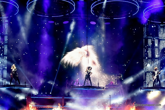 Trans-Siberian Orchestra plays in Tampa's Amalie Arena