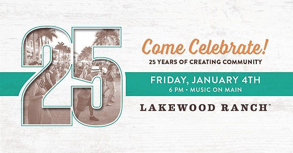 25th Anniversary Celebration at Music on Main in Lakewood Ranch, FL