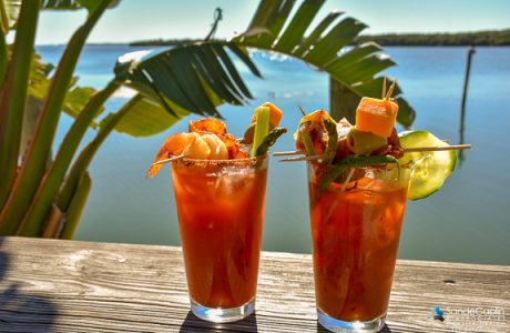 Make Your Own Bloody Mary Every Sunday at the Swordfish Grill and Tiki in Cortez, Florida