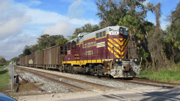 Railfanning in Sarasota County, FL