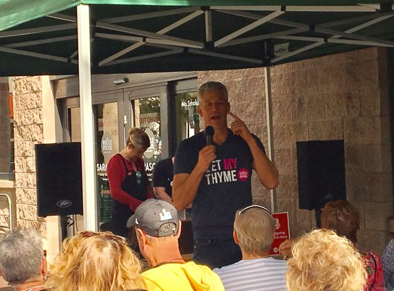Rip Esselstyn Shares His Plant Based Message with Sarasota, FL