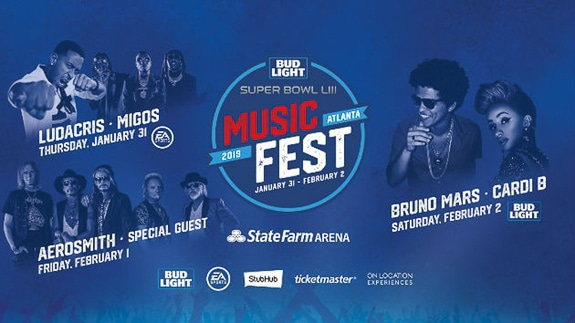 Super Bowl Music Fest Kicks Off the Big Weekend in Atlanta