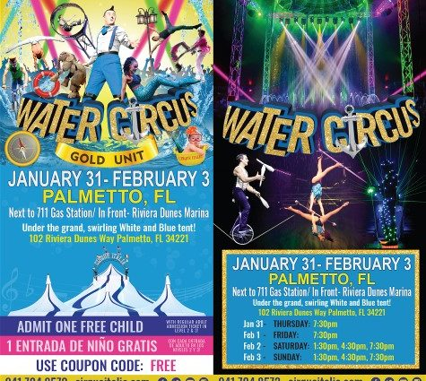 "Ever Wonder What ""A Water Circus"" in Palmetto, Florida is All About?"