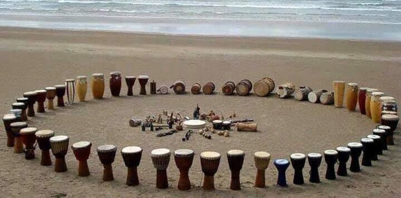 Unity of Venice starts their season of monthly Drum Circles in Venice, FL