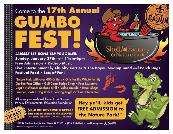 17th Annual Gumbo Fest in Fort Myers, FL