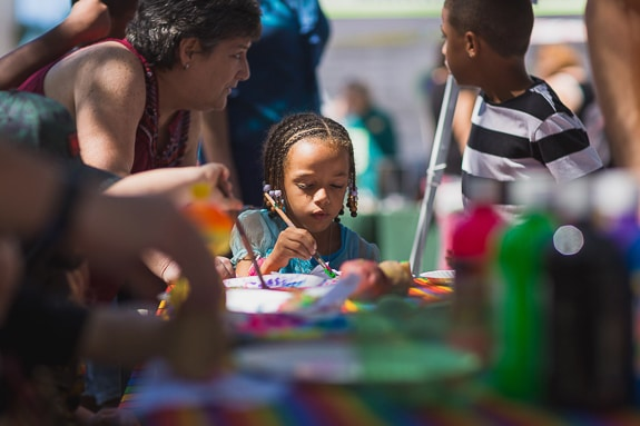 ArtSlam in Bradenton FL is a free event for everyone.