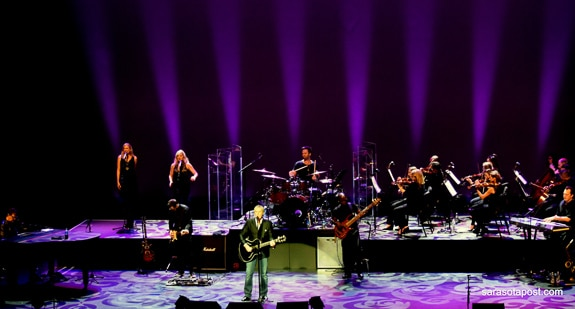 Michael Bolton Brought Love Songs And A Symphony For Valentine's Eve At The Van Wezel In Sarasota, FL
