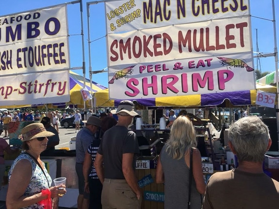 Enjoy great food, music and art at The Cortez Commercial Fishing Festival in Cortez, FL