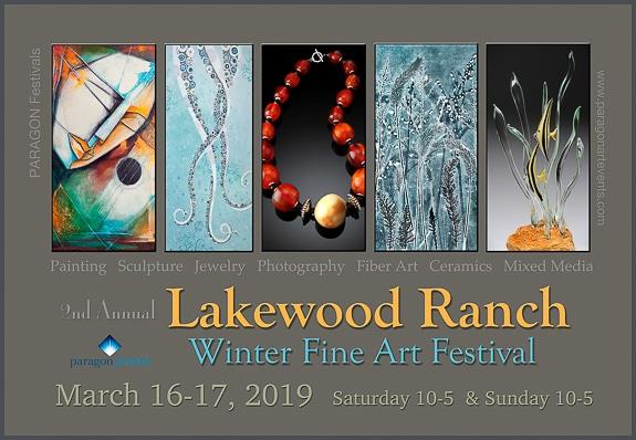 2nd Annual Sarasota / Lakewood Ranch Fine Art Festival- March 16-17