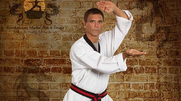 Buck Buckmaster, owner of Revolutionary Martial Arts & Fitness in Venice, FL