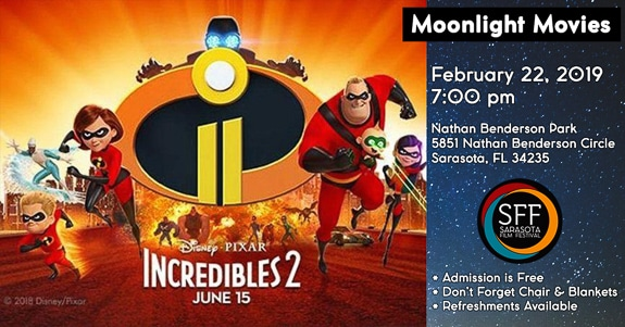 Sarasota Film Festival's Moonlight Movies Event - Incredibles 2