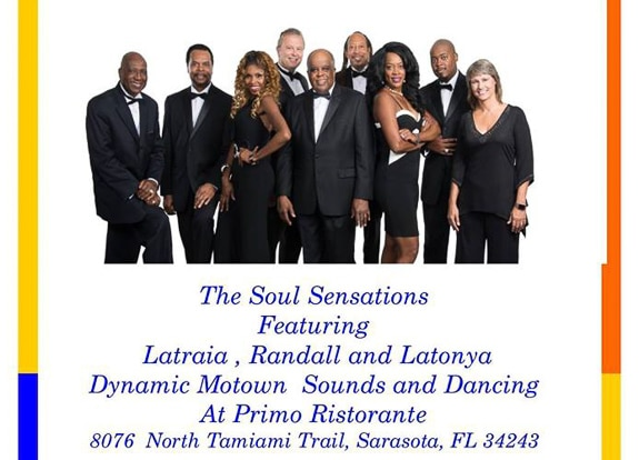 Soul Sensations at Primo Ristorante in Sarasota, FL