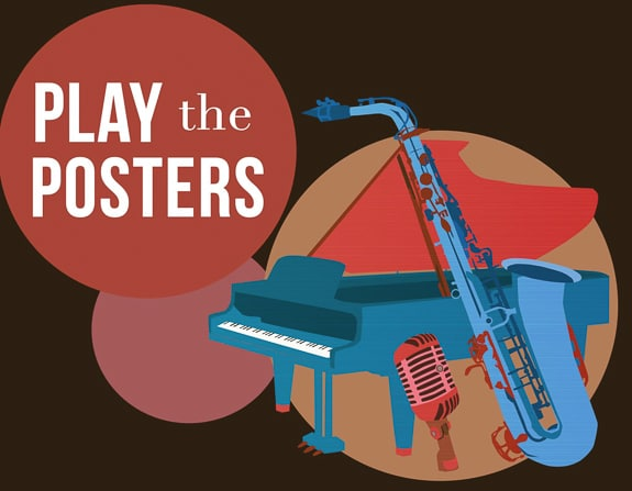 Play the Posters: A Jazz Trio at Venice Performing Arts Center in Venice, FL