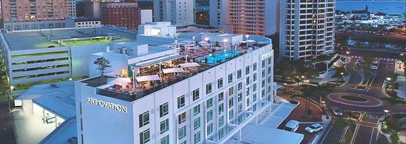 Happy Birthday To Sarasota's Art Ovation Hotel