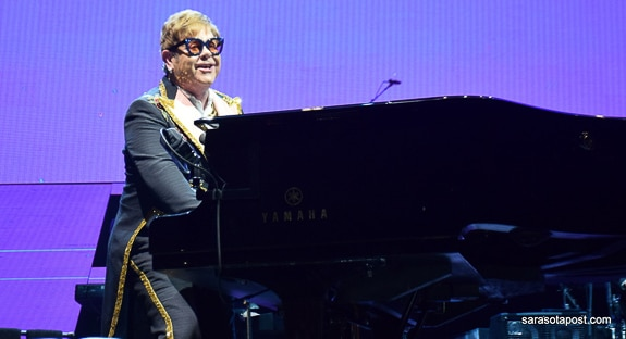 Sir Elton John gave a great performance at Orlando's Amway Center in Orlando, FL
