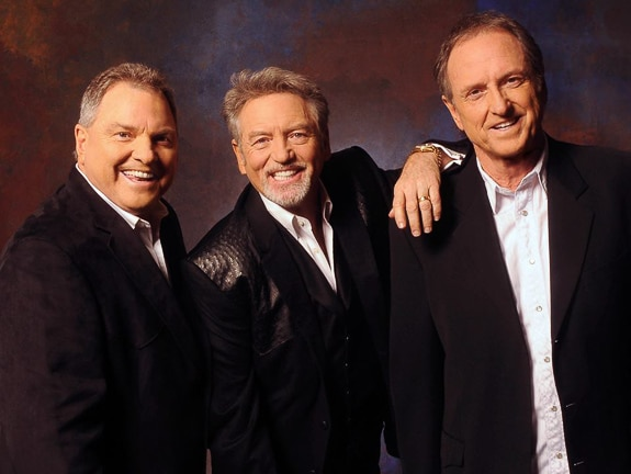 Rudy, Larry, and Steve - The Gatlin Brothers!