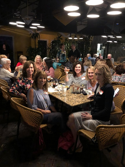 Women gather together in the SWAG group in Sarasota, FL