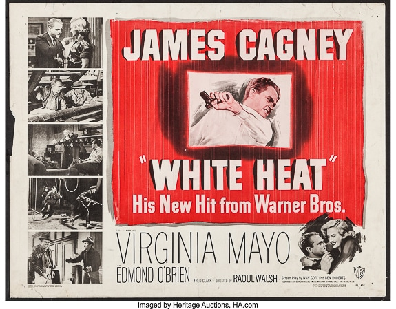 """Classic Movie: """"White Heat""""(1949) showing at SFF Cinematheque in Sarasota, FL"""