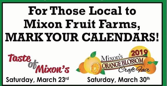 "Mixon Farms ""A Taste of Mixon's"" is happening in Bradenton, FL"