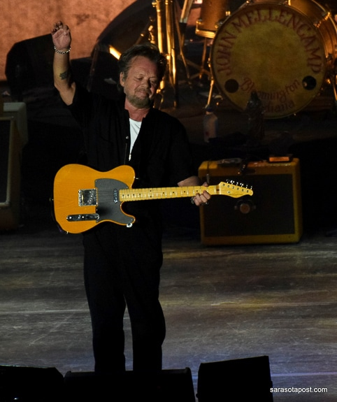 John Mellencamp played at Ruth Eckerd Hall in Clearwater, FL