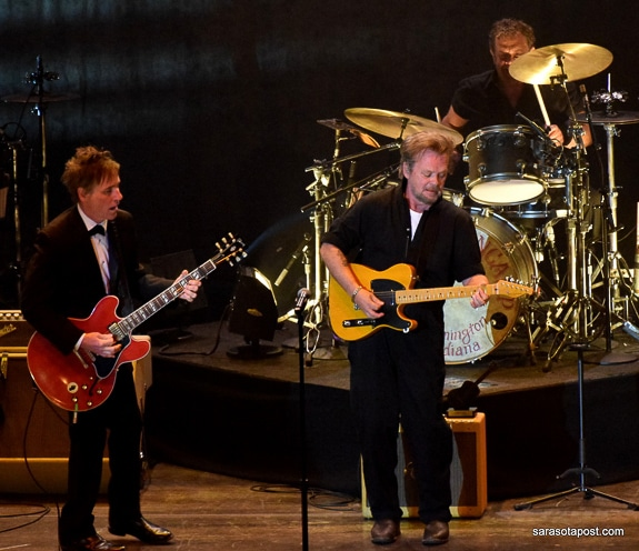 John Mellencamp brought his great band with him to Ruth Eckerd Hall in Clearwater, FL