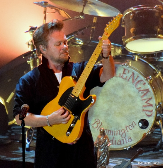 John Mellencamp plays his guitar at Ruth Eckerd Hall in Clearwater, FL