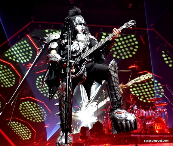 "KISS at the ""End of the Road World Tour"" in Tampa, FL"