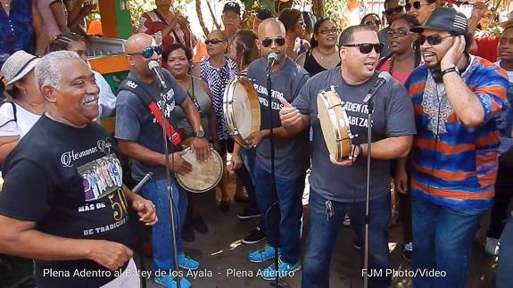 Enjoy Puerto Rican Plena Music at Fogartyville in Sarasota, FL