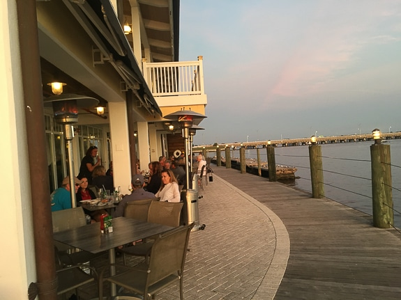 The Riverhouse Reef & Grill in Palmetto, FL has spectacular views!