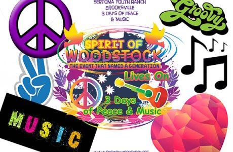 Inaugural Spirit of Woodstock Summer of Peace, Love & Music In Brooksville, FL