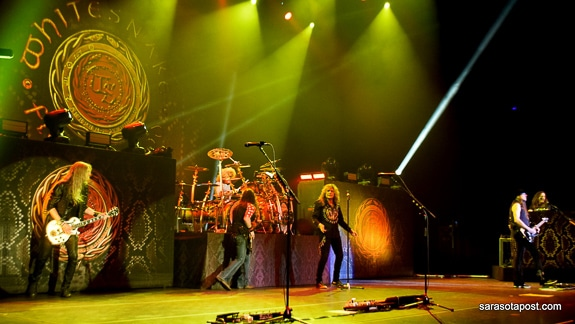 Whitesnake Slithers into Clearwater's Ruth Eckerd Hall and Rocks It