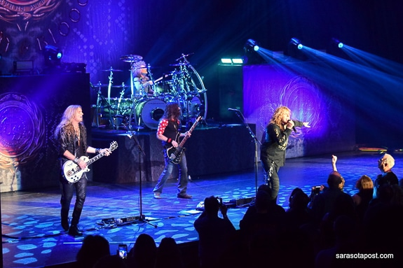 Whitesnake performed at Ruth Eckerd Hall in Clearwater, FL