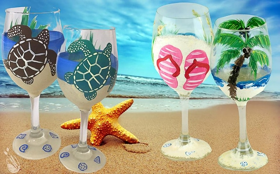 Sea Turtles and Flip Flops you Pick! at Painting with a Twist Bradenton, FL