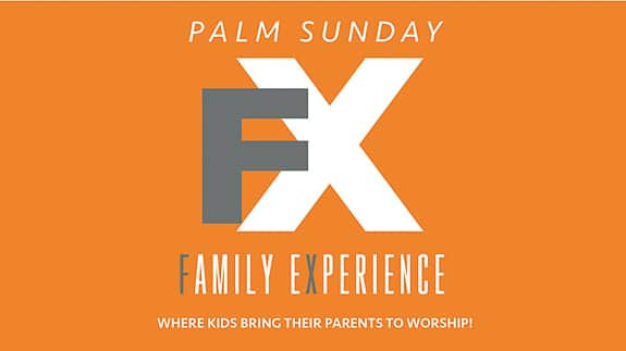 Palm Sunday Family Experience at Harvest United Methodist Church in Bradenton, FL