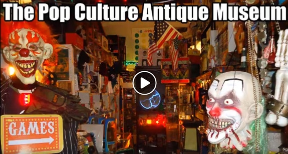 Shopping Sundays At The Pop Culture Antique Museum in Englewood, FL