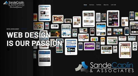 Sande Caplin & Associates Inc. has a new website
