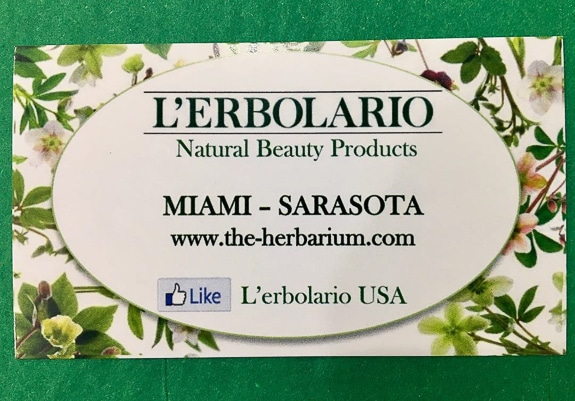 L'Erbolario Products, First in Miami and Sarasota at The Herbarium