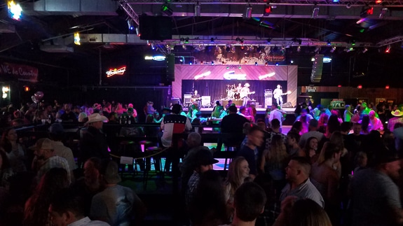 Joyland Country Music Night Club in Bradenton, FL has live country music and a huge dance floor.
