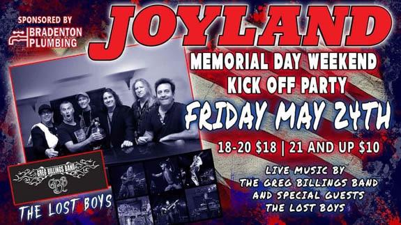 Memorial Day Weekend Celebration At Joyland In Bradenton, FL